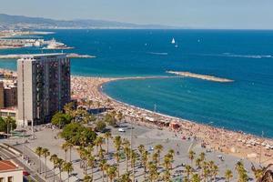Barcelona Strand foto
