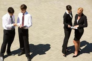 Unternehmenskommunikation foto