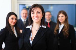 Gruppe von Geschäftsleuten foto