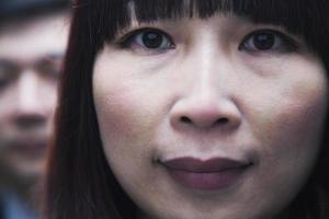 Porträt von Geschäftsleuten, Kamera betrachtend, Peking foto