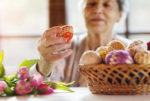 ältere Frau foto