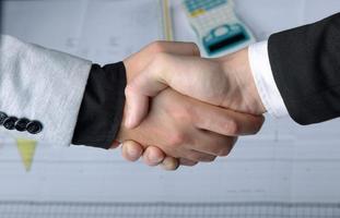 Geschäftspartnerschaft