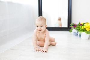 süßes Baby foto