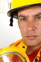 Feuerwehrmann Porträt foto