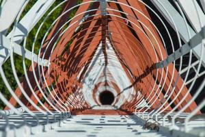 Draufsicht Kommunikationsturm 73 Meter foto