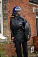 britischer Polizist foto