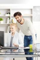 Teamarbeit im Büro