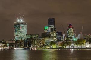 Stadt London, die weltweit führenden Finanzzentren foto