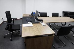 Büro Interieur. foto