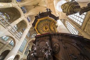 Saint Etienne du Mont Kirche, Paris, Frankreich foto
