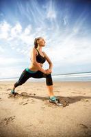 Fitness und gesunder Lebensstil foto