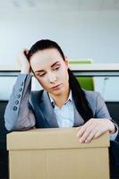 Den Job zu verlieren ist eine überwältigende Sorge foto