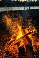 magisches Feuer foto