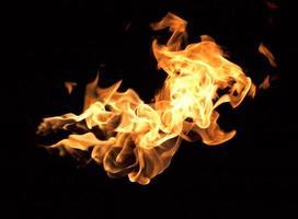 die roten Flammen foto