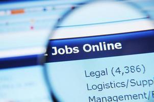 Jobs online foto