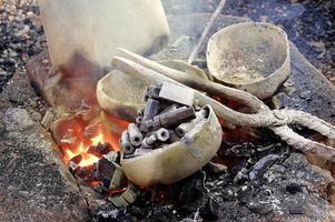 die Arbeit von Bronze in Burkina Faso foto