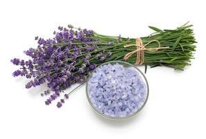 Lavendel Badesalz foto