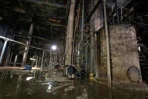 alte verlassene Fabrik foto