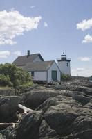 Grindle Point Leuchtturm foto