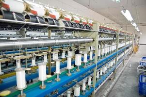 Textilfabrik foto