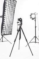 Fotoshooting-Ausrüstung sieht jetzt perfekt aus foto