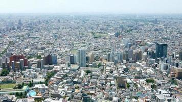 Stadtbild in Japan Tokio Shinjuku foto