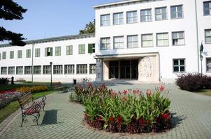 Landwirtschaftliche Universität, Debrecen, Ungarn foto