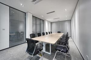 modernes Büro Meetingraum Interieur foto