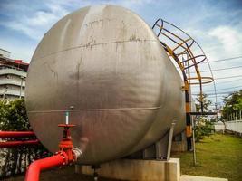 Wassertank (Kapsel) liefert Löschwasser