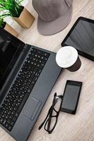 Kaffeezeit im Büro foto