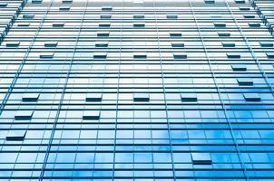 modernes Gebäude des Wolkenkratzers foto