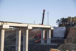 Brückenbau foto