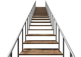 Treppe nach oben foto