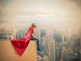 Superheld Kind foto