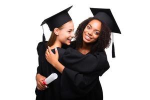 Konzept für Studentenabschlusstag foto