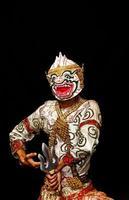 thailändische Kulturshow Hanuman foto