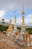 buddhistische Pagoden, Myanmar foto