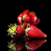 leckere Erdbeeren foto