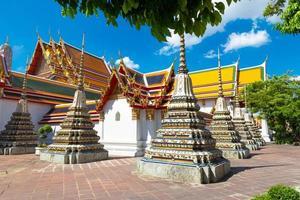alte buddhistische Stupas foto