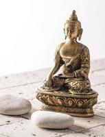 Spiritualität für friedlichen Geist und coole Haltung foto