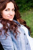 Porträt eines Mädchens foto