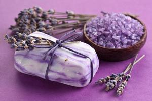 Lavendelseife. foto
