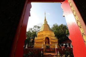 Tempel in Chiang Mai Thai Land foto