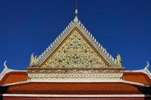 Detail des Tempels der Morgendämmerung foto