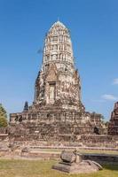 Wat Ratchaburana Ratchaworawihan in Ayutthaya Thailand foto