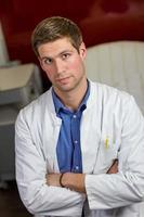 kaukasischer Arzt foto