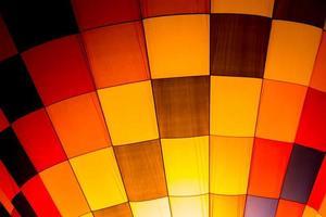 bunter Heißluftballon foto
