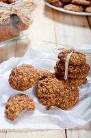 Diät und gesunde Müsli-Kekse