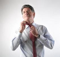 Krawatte foto