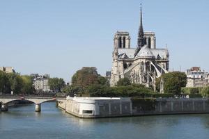 notre dame kathedrale, paris, frankreich foto
